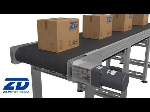 Zastosowanie napędów ZD-Motor - cz.1 Przenośnik taśmowy - zdjęcie