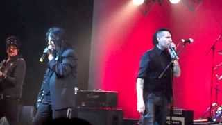 Alice Cooper, Marilyn Manson and Steven Tyler sing Come Together with Johnny Depp on guitar!