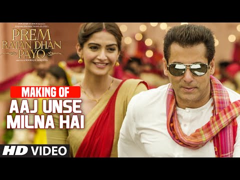 Download making of 39 aaj unse milna hai 39 video song prem rat hd file 3gp hd mp4 download videos