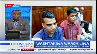 Washtakiwa Waachiliwa:Raia wa India waachiliwa baada ya kunaswa na madawa ya kulevya