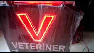 Led Veteriner Tabelası