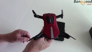 Eachine E52 Folding Selfie Drone - Flight Test and Review - Banggood.com