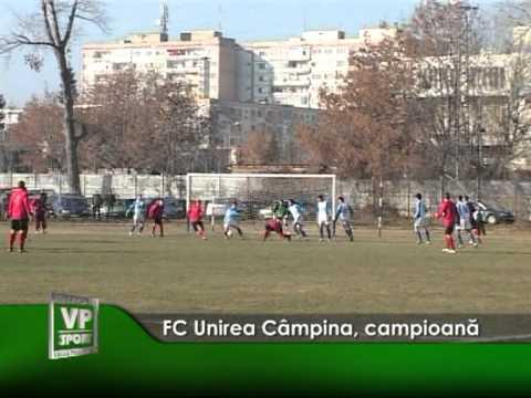 FC Unirea Câmpina, campioană