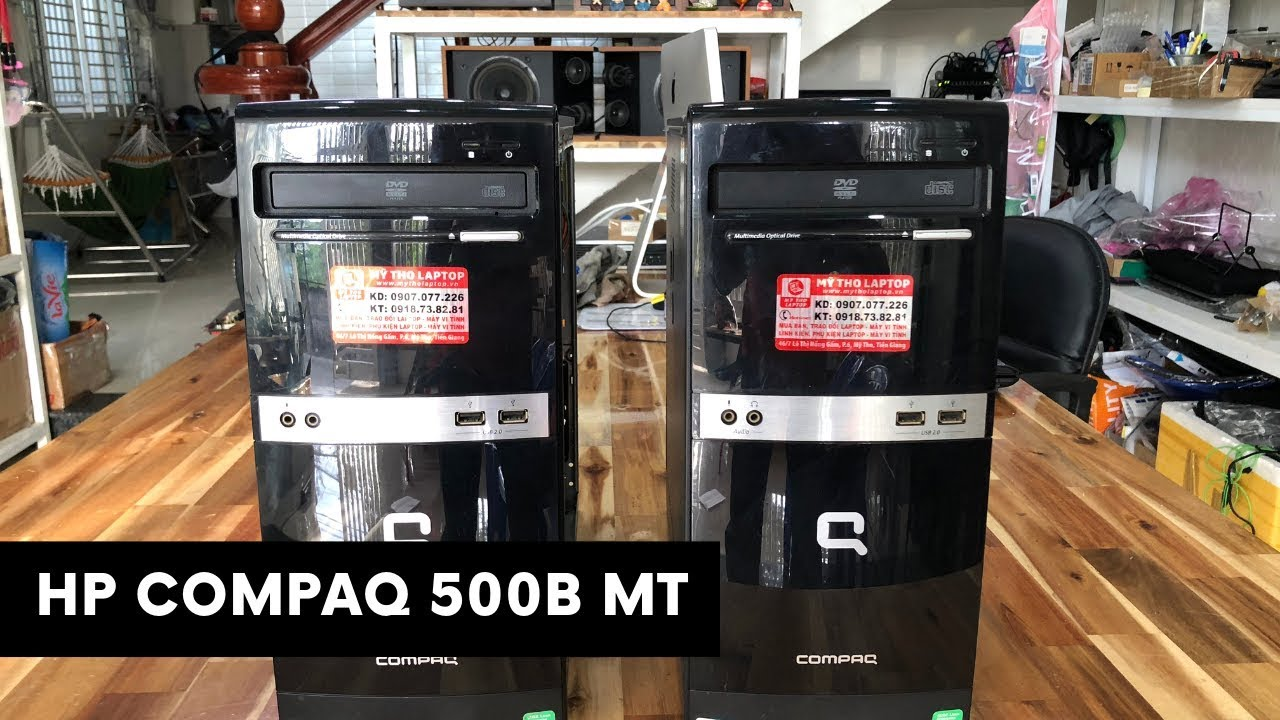 Đánh giá HP Compaq 500B MT E5400 - Ram 3GB - HDD 80GB