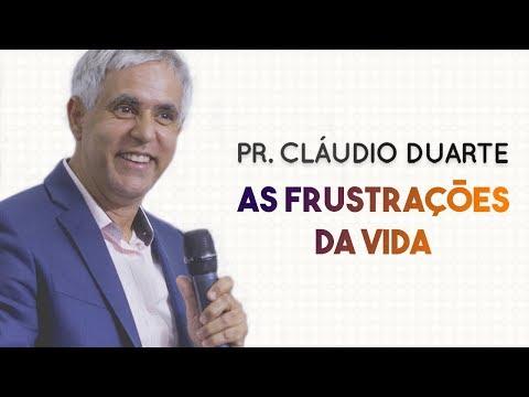 Pastor Cláudio Duarte - As FRUSTRAÇÕES da VIDA   Palavras de Fé