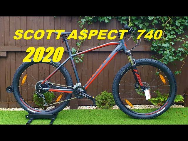 Видео Велосипед Scott Aspect 740 orange/grey