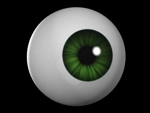 Basic Cartoony Eye setup in Maya [TUTORIAL]