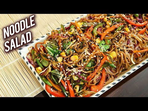 Noodle Salad | Soba Noodle Healthy Salad Recipe | World Vegetarian Day | Ruchi