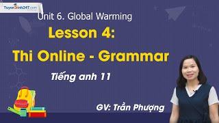 Unit 6 – Bài tập Ngữ pháp – Tiếng Anh 11 mới – Cô giáo Trần Phượng