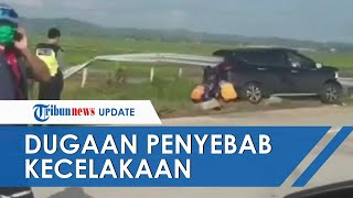 VIRAL Video Kecelakaan Mobil Tertusuk Besi Pembatas Jalan Tol, Ahli Ungkap Dugaan Penyebabnya