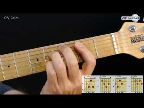 Gitarrenakkorde: C°/ Cdim chord