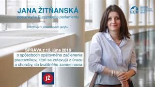 Návrat do zamestnania po úraze či chorobe: správa v slovenskom posunkovom jazyku