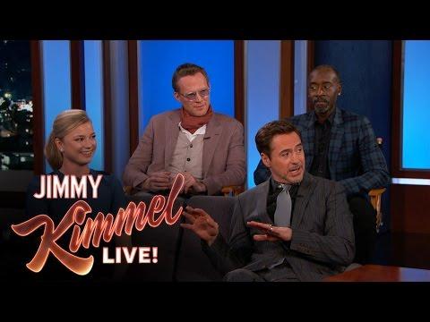 Robert Downey Jr. Has the Avengers