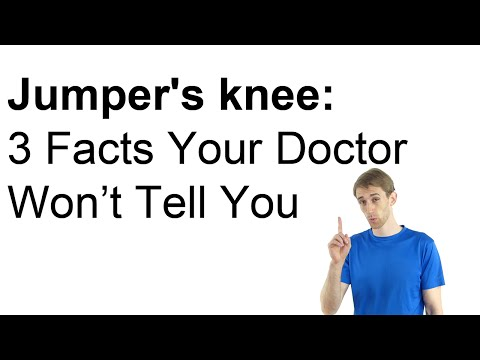Video Jumper's Knee Treatment: 3 Facts Your Doctor Won't Tell You