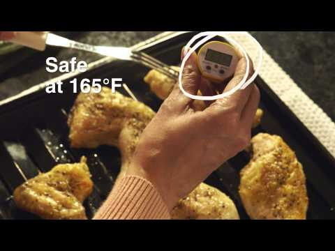 The Importance of Cooking to a Safe Internal Temperature and How to Use a Food Thermometer