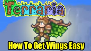 Terraria How To Get Wings Easy | Easiest Fastest Wings