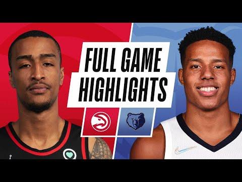HAWKS at GRIZZLIES | NBA PRESEASON FULL GAME HIGHLIGHTS | October 9, 2021