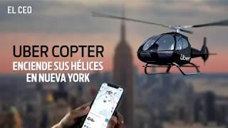 Uber Copter enciende sus hélices en Nueva York