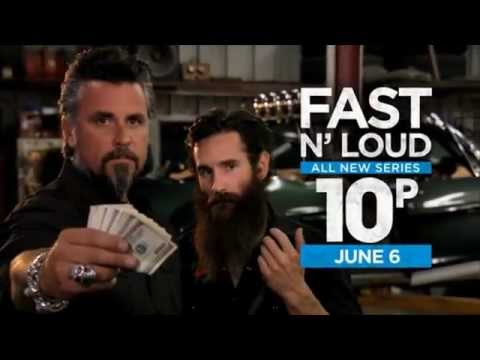 Video trailer för Fast N' Loud | Premieres Wed, June 6, 2012 at 10PM e/p on Discovery*