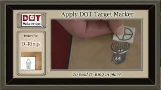 Hanging D-Ring Fasteners with DOT Marks the Spot