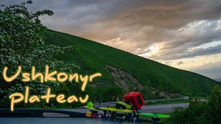 FPV flight over the Ushkonyr plateau