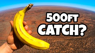 CATCHING FRUIT from a HELICOPTER!