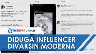 Ramai Dugaan Influencer Dapat Vaksin Moderna untuk Booster, DPRD DKI: Kami Pastikan Tidak Ada