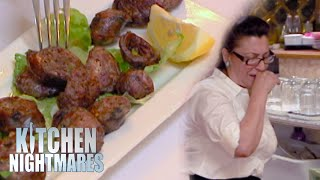 Waitress Can't Stop Coughing After Trying Food | Kitchen Nightmares
