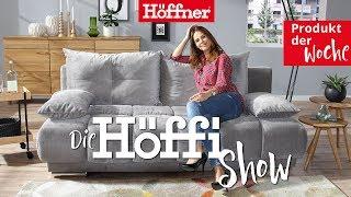"""Die Höffi Show //  Schlafsofa mit Boxspringpolsterung """"Isalie de Luxe"""""""