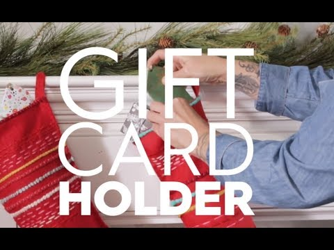 Gift Card Holder | Made By Me - Crafts| Better Homes & Gardens