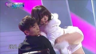【TVPP】AOA - Miniskirt + Like A Cat, 에이오에이 - 짧은 치마 + 사뿐사뿐 @ 2014 KMF Live