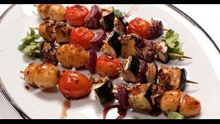 Овощной шашлык | 7 нот вегетарианской кухни