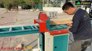 Review cắt ngang ben hơi WM 18. Chiếc máy cần thiết co mọi xưởng gỗ