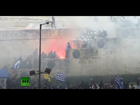 Protest in Athens over Macedonia name change