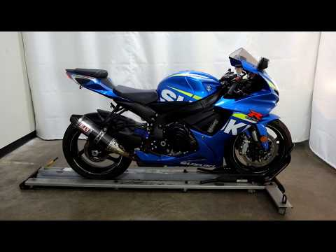 2015 Suzuki GSX-R600 in Eden Prairie, Minnesota - Video 1