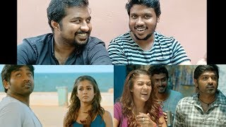Naanum Rowdy Dhaan - Title Track Reaction by Malayalees   Anirudh   Vijay Sethupathi, Nayanthara