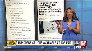 Hundreds Of Jobs Available At Thursday's Job Fair