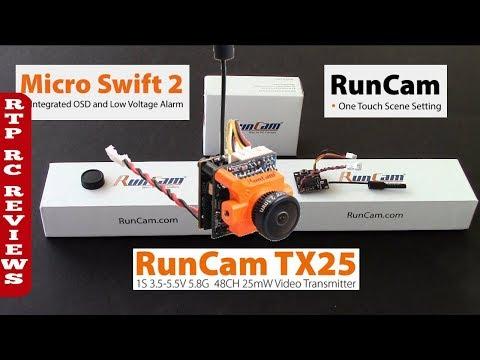 RunCam Micro Swift 2 FPV Cam and RunCam TX25 Piggyback VTX First Look