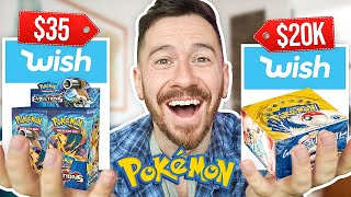 I Bought All The Pokemon Cards On Wish!!
