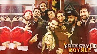 CLASH ROYALE Y BATALLAS DE GALLOS !! KHAN VS ANTE   Navalha - Freestyle Royale