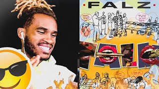 FALZ   TALK | REACTION VIDEO