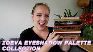 ZOEVA EYESHADOW PALETTE COLLECTION 2020 // The Most Underrated Brand I Love