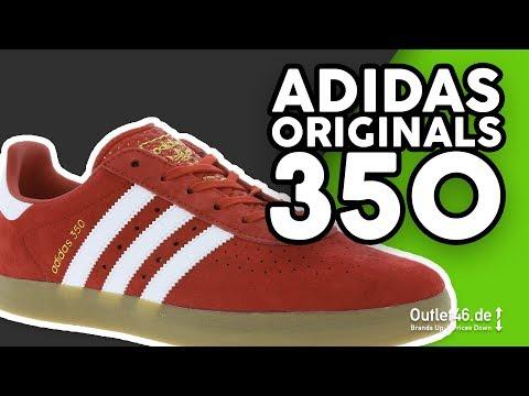 Adidas Originals 350 Echtleder Sneaker DEUTSCH l Review l On feet l Haul l Overview l Outlet46.de
