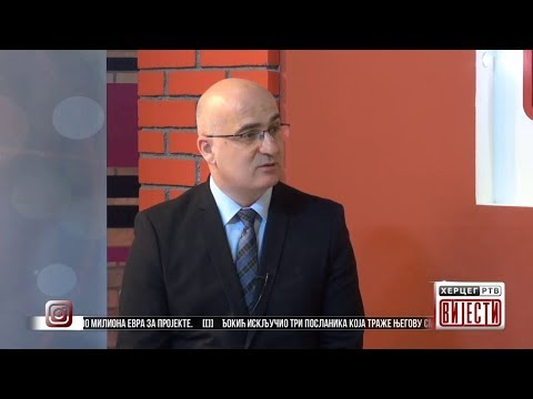 Gost Vijesti u 16.30: Dragoslav Banjak, predsjednik Skupštine grada Trebinje (VIDEO)