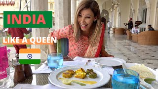 Luxury Living In INDIA I Elephant Sanctuary, Rambagh Palace & MORE! #Jaipur #TravelVlog