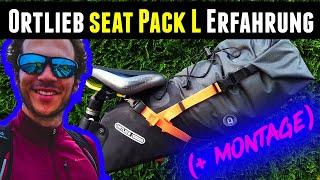 Ortlieb Seat Pack L Test - Erfahrung nach 1,5 Jahren mit der Satteltasche -  Bikepacking Ausrüstung