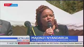 Mazishi ya watu tisa waliofariki kufuatia ajali kwenye barabara ya Nyeri – Nyahururu