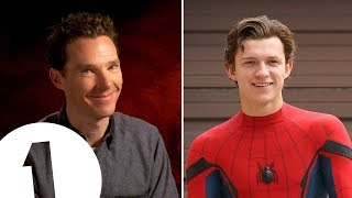 Бенедикт Камбербэтч, Benedict Cumberbatch's Tom Holland impression is PERFECT