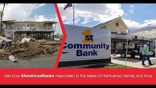 America's Banks Rebuild Communities After Hurricanes