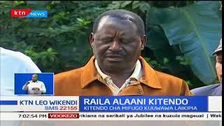 Kiongozi wa upinzani, Raila Odinga alaani kitendo cha jana cha polisi kuwaua mifugo Laikipia